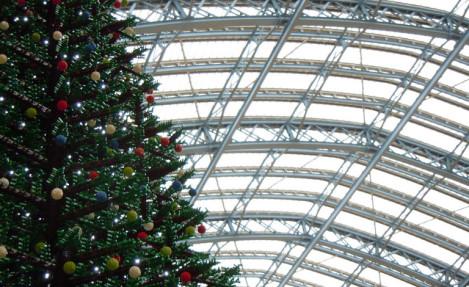 Christmas Tree at Kings Cross St Pancras