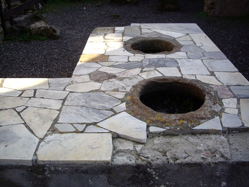 Bakers oven at Pompeii