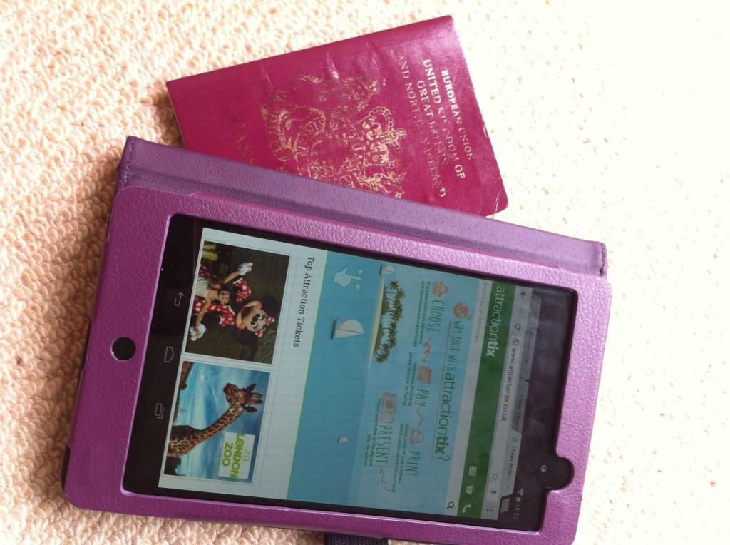 Essentials packing for a european city break