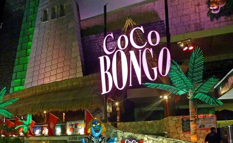 coco bongo VIP ticket cancun