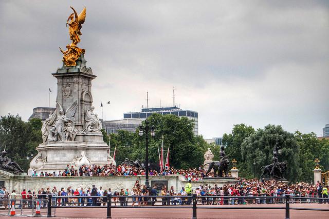 Victoria Memorial at Buckingham Palace