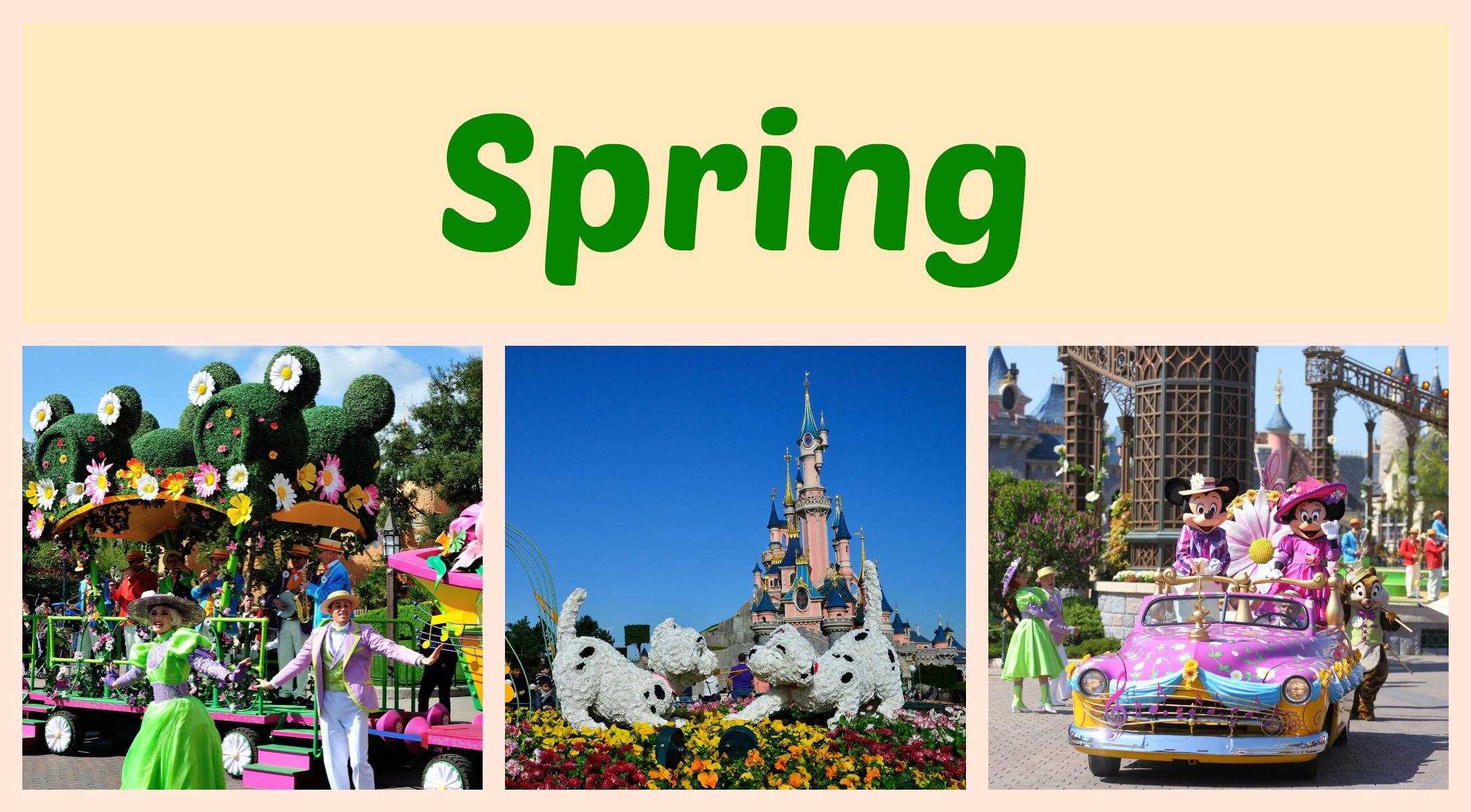 Spring at Disneyland Paris