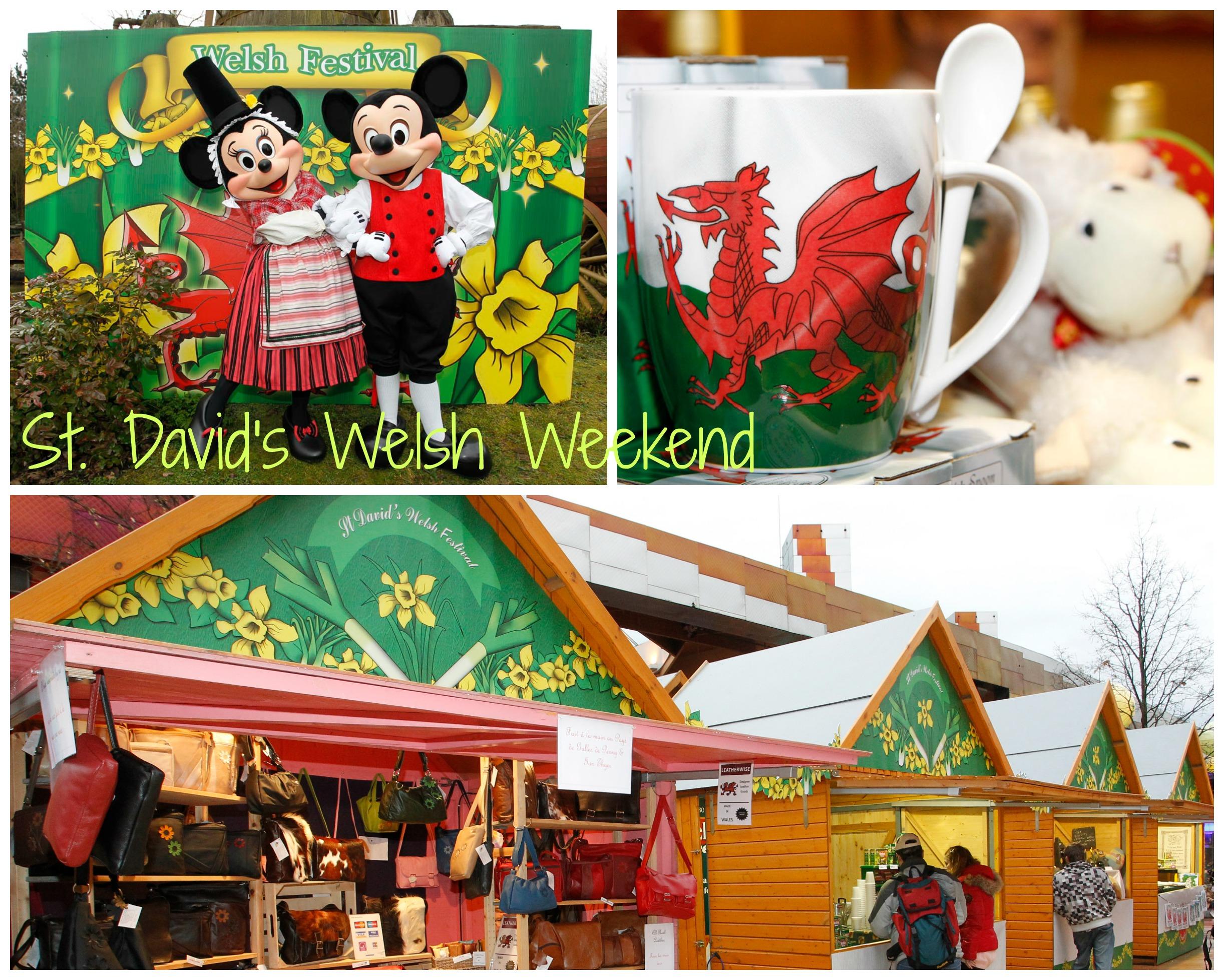 St David's Welsh Weekend at Disneyland Paris