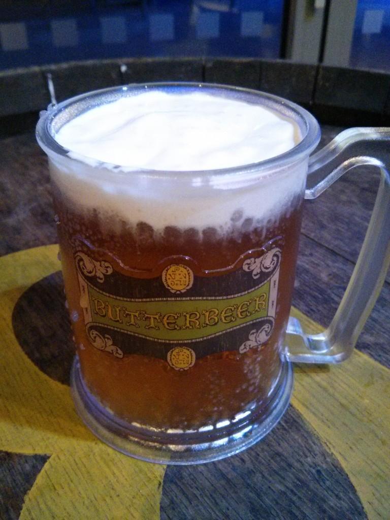 Harry Potter Studios- Butter beer