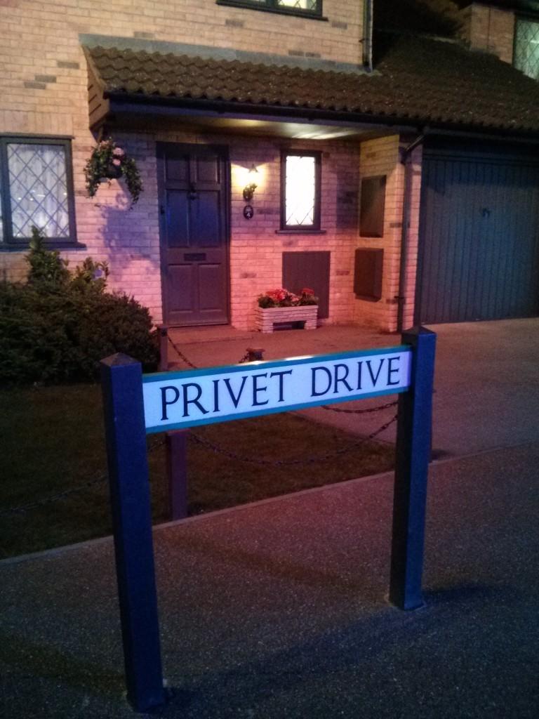 Harry Potter Studios- Privet Drive (2)