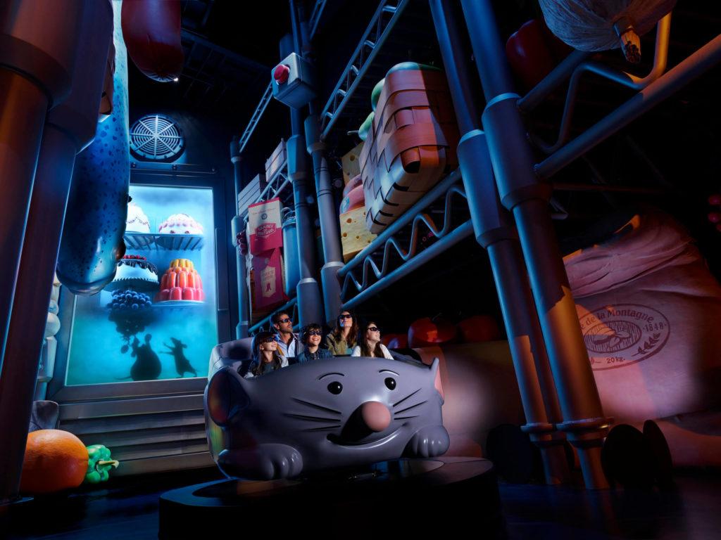Ratatouille Ride at Disneyland Paris
