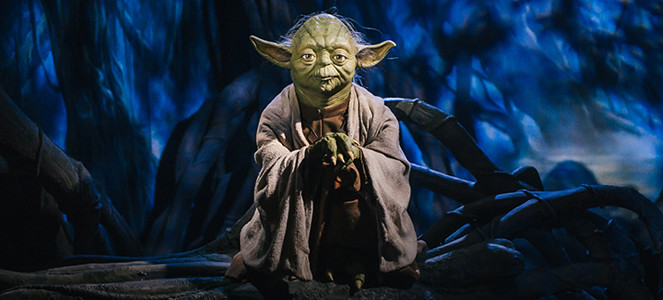 Yoda at Madame Tussauds London