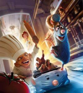 Ratatouille ride Disneyland Paris