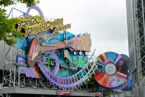 Rock n' Roller Coaster at Disneyland Paris