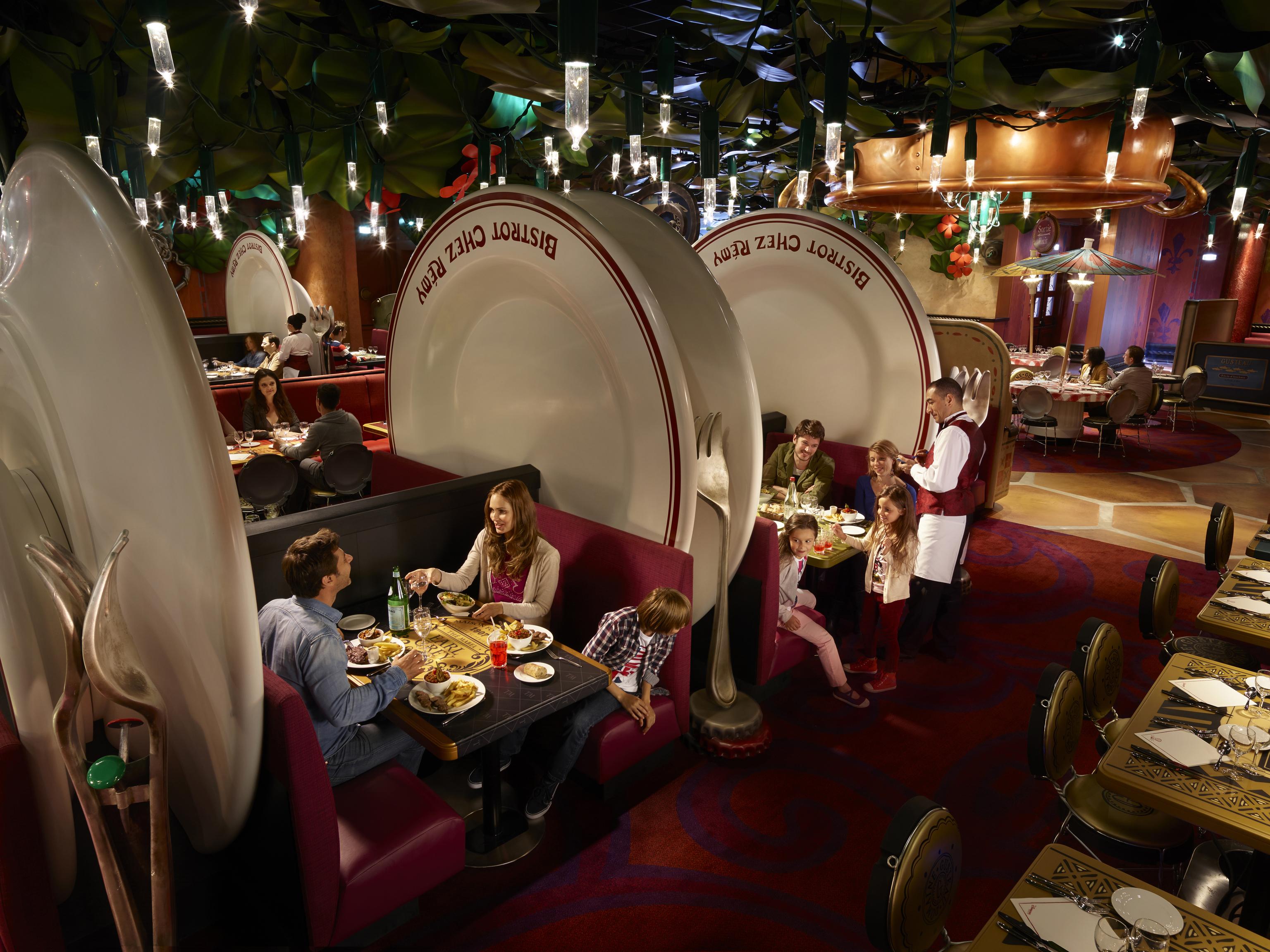 Disneyland Paris Meal Plan Restaurants