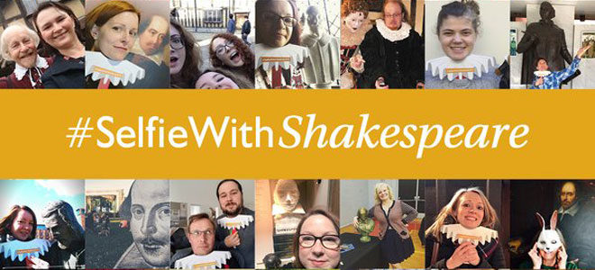 #SelfiewithShakespeare