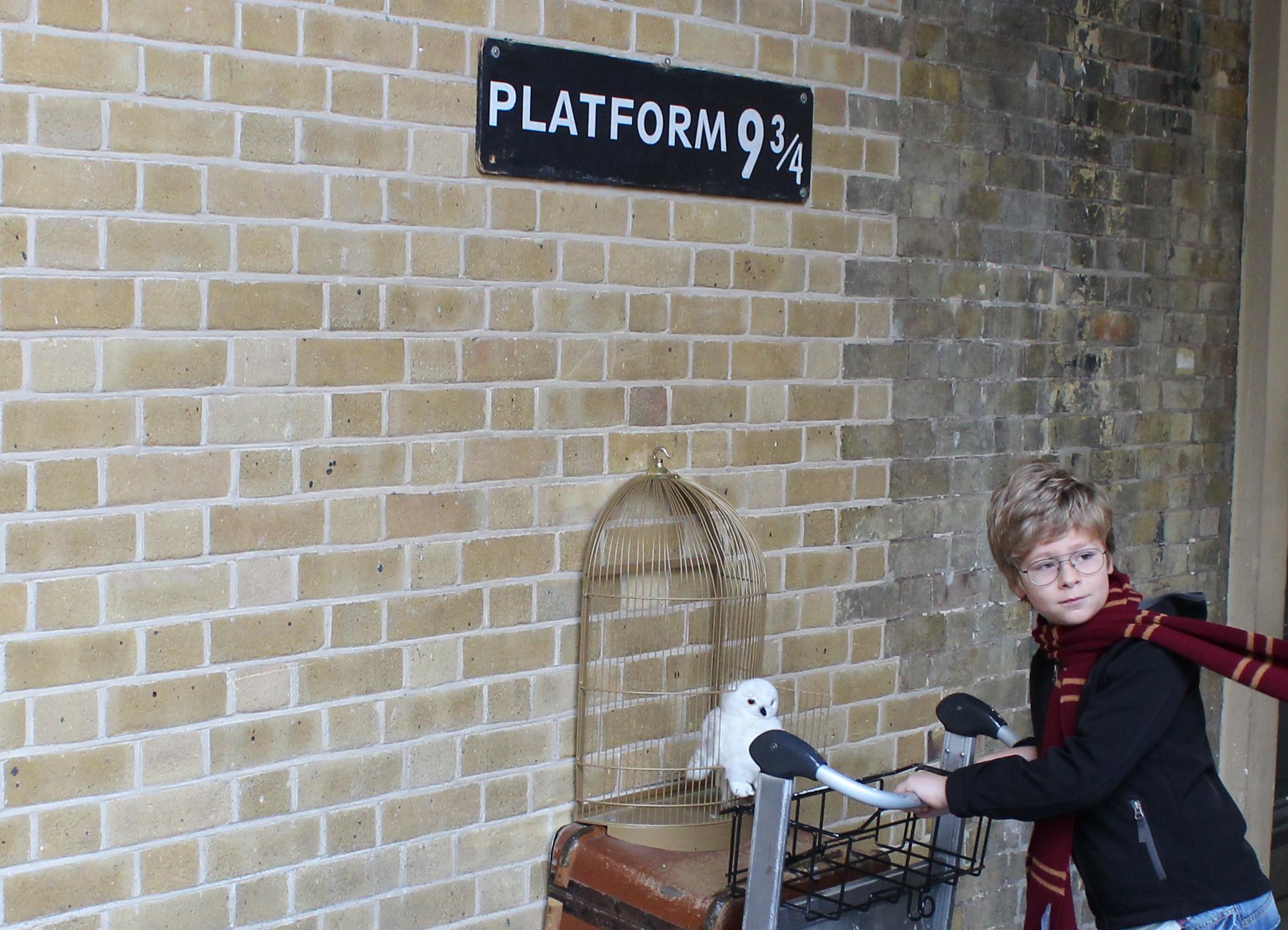 Platform 9¾ on the Harry Potter London Tour