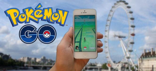 London eye Pokemon Go
