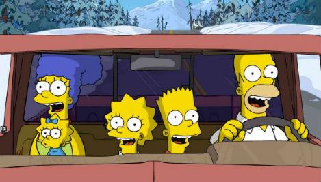 The Simpsons Travel Scrapbook