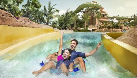 Slide at Aquaventure Dubai