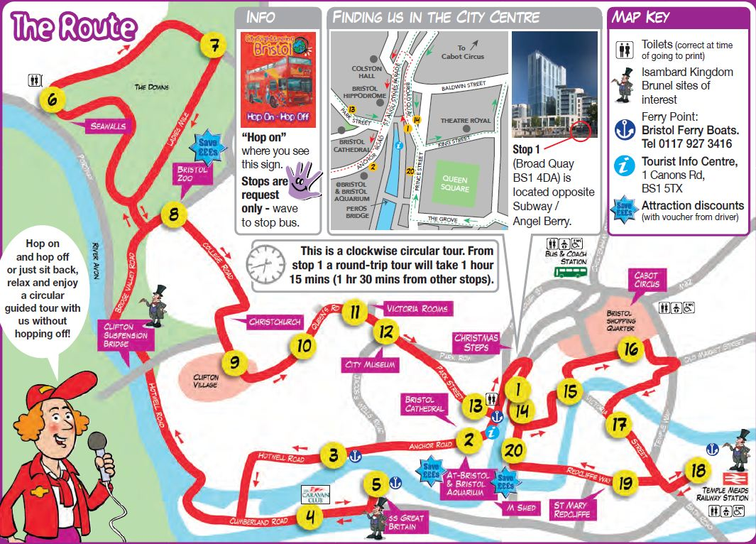 Transatlantic Bridge >> CitySightseeing Bristol, Bristol Hop on Hop off bus - AttractionTix