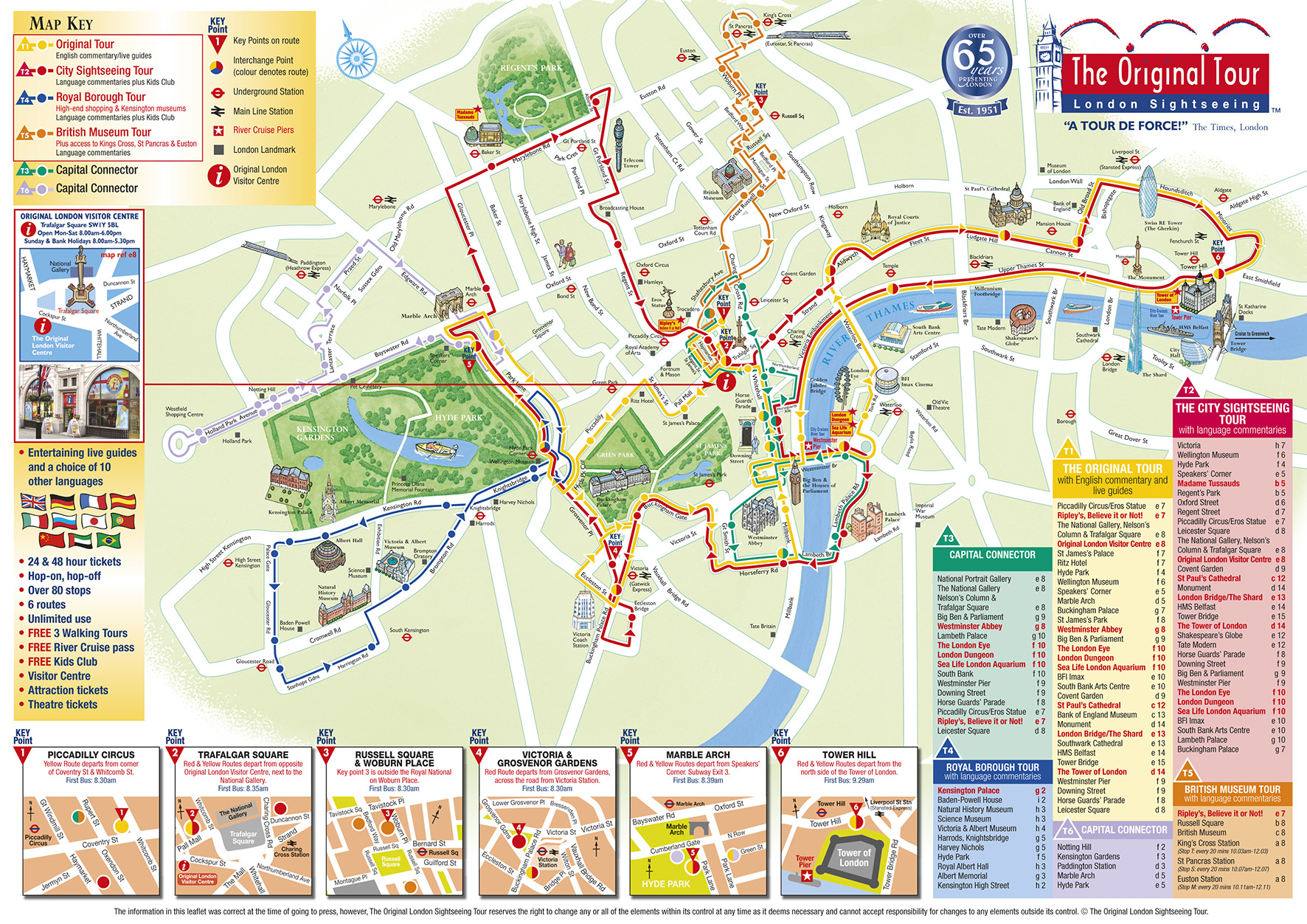 Fabuleux Book CitySightseeing London Bus Tour - AttractionTix CK69
