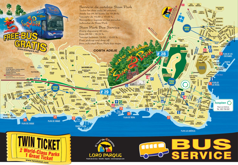 Siam Park & Loro Parque Twin Ticket