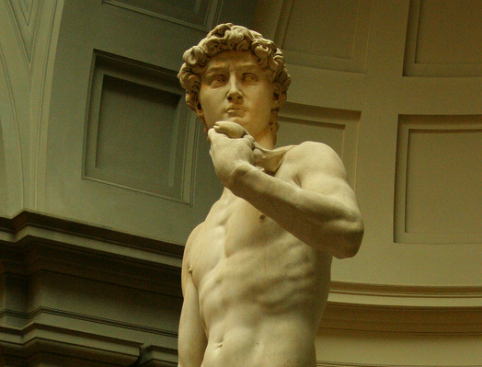 Michelangelo's David Accademia Gallery