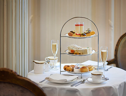 Full Afternoon Tea at the Waldorf Hilton- Afternoon Tea Scones And Cream