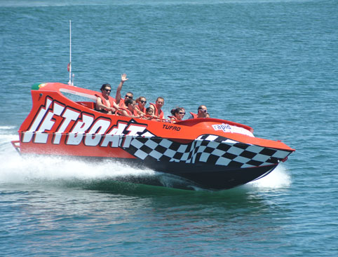 Algarve Boat Cruises- Jet Boat Adventure