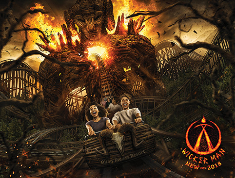Alton Towers - Galactica