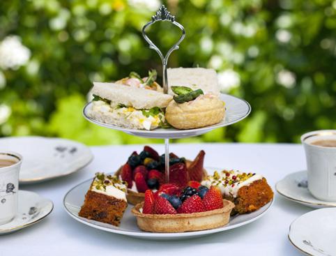 Grosvenor Hotel Afternoon Tea