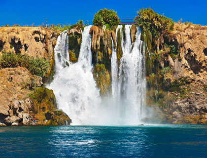 Antalya Boat Trip All Inclusive- Waterfall Duden at Antalya