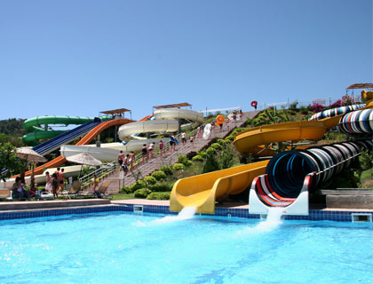 Aqua Dream Waterpark - from Marmaris- Black Hole and Fast Slides