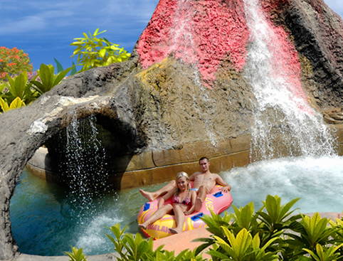 Aqualand Costa Adeje - Tornado Water Slide