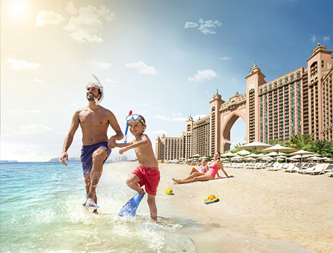Aquaventure atlantis the palm waterpark tickets for Pool and spa show dubai