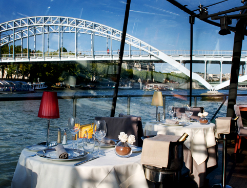 buy bateaux parisiens river seine dinner cruise attractiontix. Black Bedroom Furniture Sets. Home Design Ideas