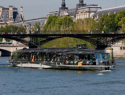 Bateaux Parisiens lunch