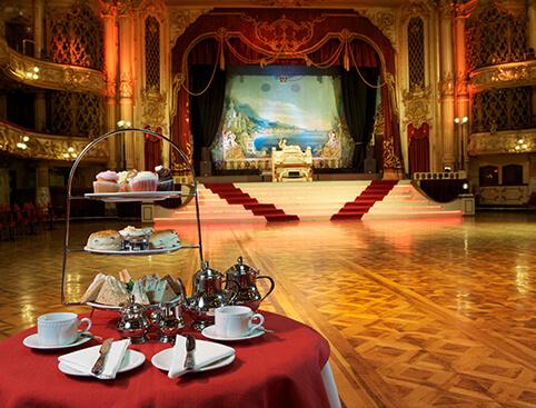 Afternoon Tea Blackpool Tower Ballroom
