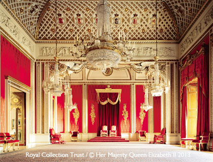 Buckingham Palace State Rooms Tour- Throne Room