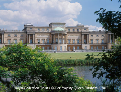 Buckingham Palace State Rooms Tour- Buckingham Palace's Garden
