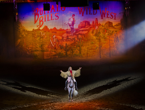 Buffalo Bills Wild West Show Disneyland Paris
