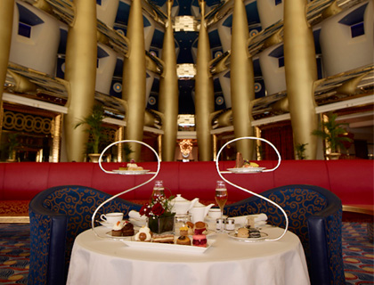 Burj Al Arab Afternoon Tea