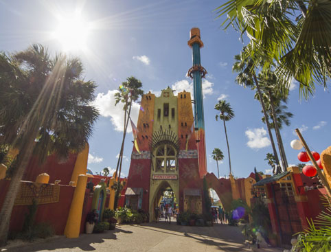 Busch Gardens Tampa Bay - Cheetah Hunt