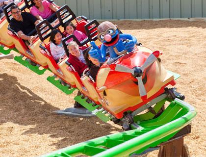 Busch Gardens Tampa Bay - Air Grover
