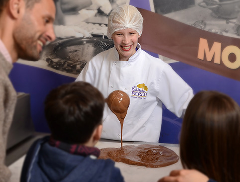Cadbury World Tickets- Cocoa Beans Story About Their Journey To Europe