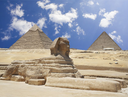 Cairo by Air from Sharm- Pyramids and the Great Sphinx