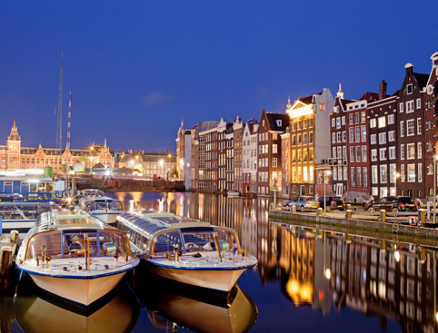Canal Cruise Candlelight Amsterdam