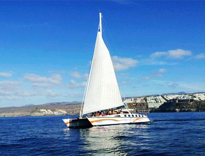 Catamaran AfriKat from Playa Del Ingles