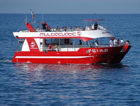 Catamaran MultiAquatic from Playa Del Ingles