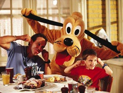 Disney Character Breakfast & Limousine Fun!