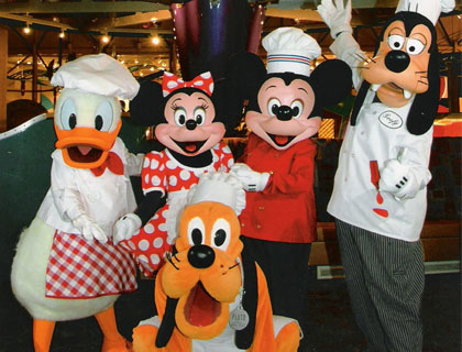 Chef Mickey Character Breakfast Christmas Day- Disney Character