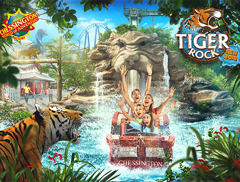 Chessington World Family Tickets