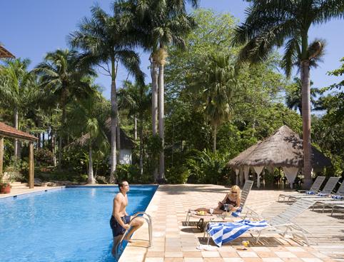 Mayaland Hotel Pool Chichen Itza Mexico