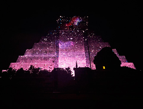 Chichen Itza Light and Sound Show Mexico